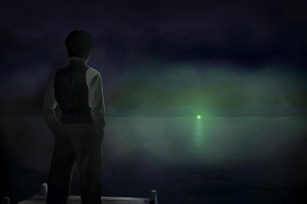 great gatsby green light essay